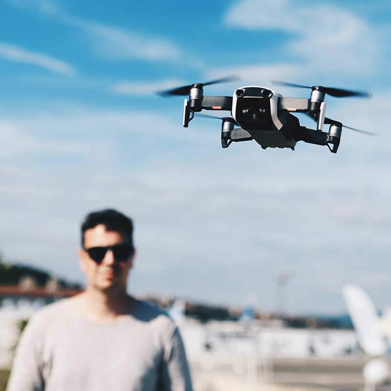 Alquiler drones TV