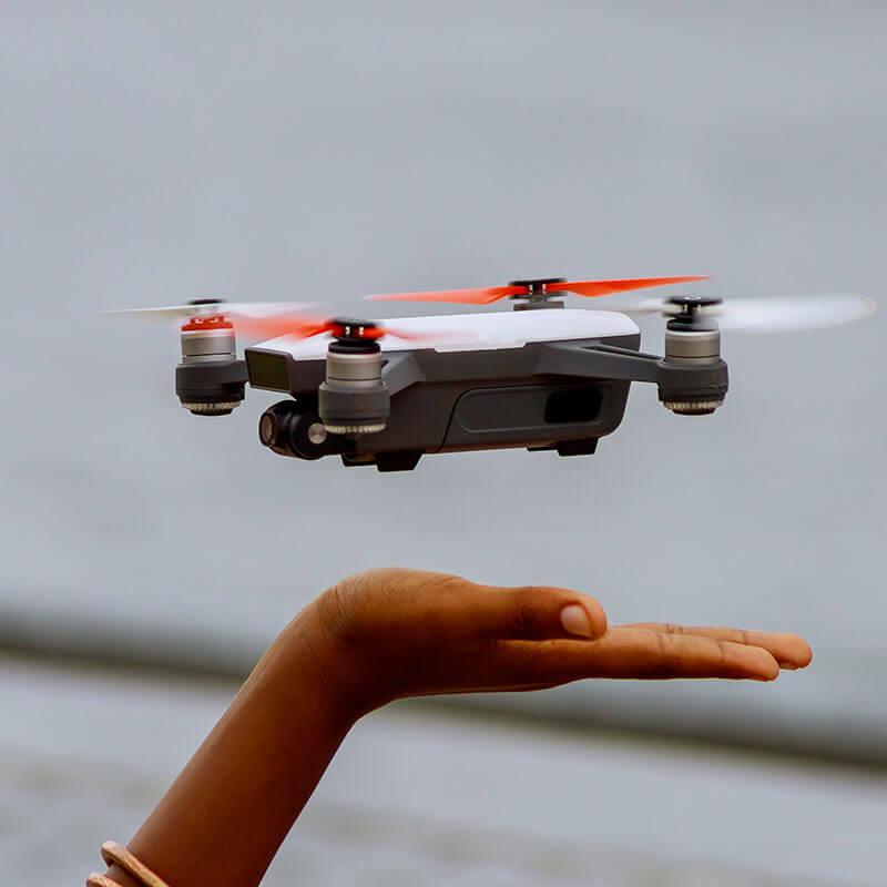 Drones eventos deportivos
