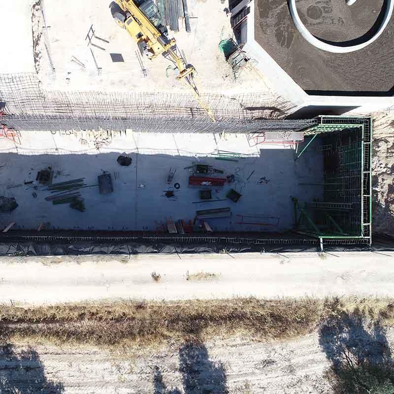 Servicio de drones y fotos para construcción