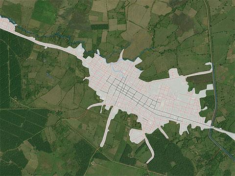 Restitución cartográfica con drones
